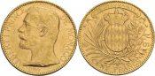 Monaco, Albert I. (1889-1922) 100 Francs, ...