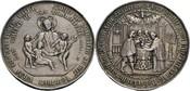 Medaille o.J. Religion  ss, Randfehler, kl...