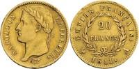 Frankreich, Napoleon I. (1804-1814) 20 Francs, Paris