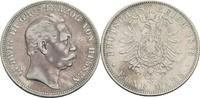 5 Mark 1876 Hessen Ludwig III., 1848-1877 fast ss, fleckige Tönung  80,00 EUR  zzgl. 5,90 EUR Versand