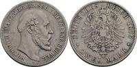 2 Mark, Berlin 1876 Mecklenburg-Schwerin Friedrich Franz II., 1842-1883... 295,00 EUR  zzgl. 5,90 EUR Versand