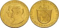 50 Franken 1956 Liechtenstein Franz Josef II., 1938-1989 vz; min. Randf... 675,00 EUR  zzgl. 5,90 EUR Versand