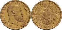 20 Mark 1900 Württemberg Wilhelm II. (1891-1918) ss/ss+, winz. Kratzer  375,00 EUR  zzgl. 5,90 EUR Versand