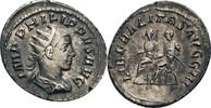 AR-Antoninian, Rom 247/249 n. Chr. Rom, Philippus II. (246-249)  ss/f.vz  75,00 EUR  zzgl. 5,90 EUR Versand