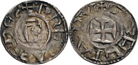 Denier o.J. (1050/1150 Lyon, Hochstift Anonym, 1050-1150 ss +, min. Prä... 140,00 EUR  zzgl. 5,90 EUR Versand