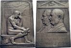 Versilberte Bronzeplakette 1916 Schweiz, Winterthur  vz  95,00 EUR  zzgl. 5,90 EUR Versand