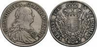 1/2 Taler 1754, Wien für Lothringen 1747 Habsburg, Franz I. (1745-1765)... 330,00 EUR  zzgl. 5,90 EUR Versand