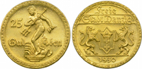 25 Gulden 1930 Danzig Freie Stadt f.st
