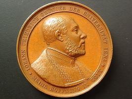 Medaille Johann Friedrich Gründer Uni Je o...