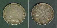 Haus Habsburg  Österreich Niederlande 1/4 Kronentaler 1789 B  ss-vz