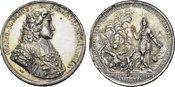 Schichtversilberte Bronzemedaille(v.G.Ha 1...