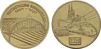 Vergoldete Nickelmedaille 1987. KÖLN  Fast Stempelglanz  13.41 US$  +  7.83 US$ shipping