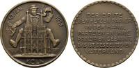 Satirische Bronzemedaille (v.Goetz) 1925. KÖLN  Prägefrisch  134.15 US$  +  7.83 US$ shipping