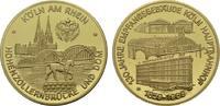 Vergoldete Bronzemedaille 1989. KÖLN  Polierte Platte  19.00 US$  +  7.83 US$ shipping