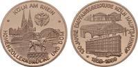Dicke Kupfermedaille (Piedfort) 1989. KÖLN  Polierte Platte  22.36 US$  +  7.83 US$ shipping
