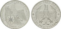3 Reichsmark 1929, A. WEIMARER REPUBLIK  Fast Stempelglanz  130,00 EUR