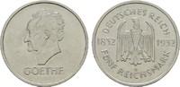 5 Reichsmark 1932 A. WEIMARER REPUBLIK  Vorzüglich-Stempelglanz  2690,00 EUR