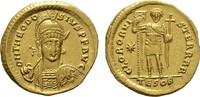 AV-Aureus um 430, Thessalonica (Sal RÖMISC...