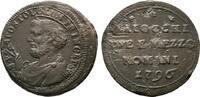 2 1/2 Baiocchi 1796, Rom. ITALIEN Pius VI., 1775-1799. Kratzer; Sehr sc... 50.30 US$  +  7.83 US$ shipping