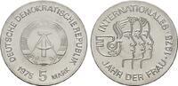 5 Mark 1975, A. DEUTSCHE DEMOKRATISCHE REPUBLIK, 1949-1990  Stempelglanz.  12,00 EUR