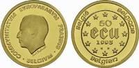 50 Ecu (1/2 Unze) 1993. BELGIEN Albert II. seit 1993. Polierte Platte  647,91 EUR free shipping