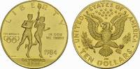10 Dollar 1984. USA  Polierte Platte.  613,04 EUR