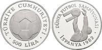 500 Lira 1982. TÜRKEI Republik seit 1923. Polierte Platte  23,00 EUR