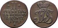 Ku.-2 Pfennig 1750. SACHSEN Friedrich III. von Gotha, 1741-1755, als Ad... 25,00 EUR  +  7,00 EUR shipping
