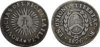 2 Soles 1826, RA - Rioja (ohne P) ARGENTINIEN Provinzen des Rio de la P... 125,00 EUR  +  7,00 EUR shipping