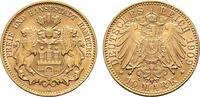 10 Mark 1909, J. Hamburg Freie und Hansest...