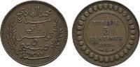 Ku.-5 Centimes 1904 TUNESIEN Unter Frankreich. Sehr schön  5,00 EUR
