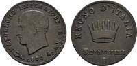 Ku.-3 Centesimi 1810 B ITALIEN Napoleon, 1805-1814. Sehr schön +.  22,00 EUR