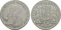 Konv.-Taler 1766 BADEN Karl Friedrich, 1746-1811. Sehr schön +.  255,00 EUR