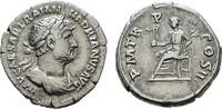 AR-Denar Rom. RÖMISCHE KAISERZEIT Hadrianus, 117-138. Sehr schön.  120,00 EUR