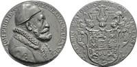 Bleimedaille 1595 (o.Signatur). SACHSEN Johann Friedrich II., 1557-1567... 290,00 EUR