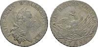 Taler 1786 A. BRANDENBURG-PREUSSEN Friedri...