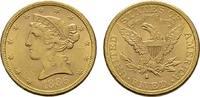 5 Dollar 1886 San Francisco. USA  Vs. Minim. Kratzer sonst Vorzüglich-s... 489,00 EUR440,10 EUR  +  7,00 EUR shipping