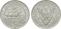 3 Reichsmark 1927, A. WEIMARER REPUBLIK  Stempelglanz, fein  325,00 EUR  +  7,00 EUR shipping