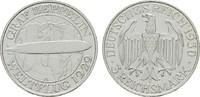 3 Reichsmark 1930, A. WEIMARER REPUBLIK  Hübsche Patina. Fast Stempelgl... 110,00 EUR  +  7,00 EUR shipping