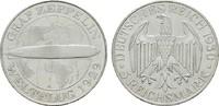 5 Reichsmark 1930, A. WEIMARER REPUBLIK  Stempelglanz, fein  285,00 EUR  +  7,00 EUR shipping