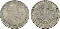 2 Kronen 1907. SCHWEDEN Oskar II., 1872-1907. Leichte Patina. Stempelgl... 27.95 US$  +  7.83 US$ shipping