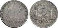 8 Reales 1789 F.M. MEXIKO Carlos IV., 1788-1808. Hübsche Patina; Sehr s... 153.93 US$  +  7.70 US$ shipping