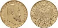 10 Mark 1898 F Württemberg Wilhelm II., 1891-1918. Fast Stempelglanz/St... 536.58 US$  +  7.83 US$ shipping