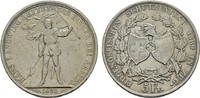 5 Franken 1869. SCHWEIZ Stadt. Sehr schön +.  150,00 EUR  zzgl. 4,50 EUR Versand