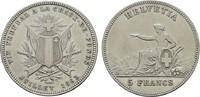 5 Franken 1863. SCHWEIZ  Sehr schön +  212.40 US$  +  7.83 US$ shipping