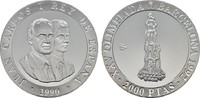 2.000 Pesetas 1992. SPANIEN Juan Carlos I., 1975-2014. Polierte Platte  30.18 US$  +  7.83 US$ shipping