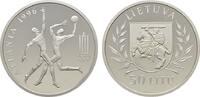 50 Litu 1996. BALTIKUM Republik. Polierte Platte  125,00 EUR  zzgl. 4,50 EUR Versand