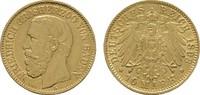 10 Mark 1893, G. Baden Friedrich I., 1852-1907. Vorzüglich  396.85 US$  +  7.83 US$ shipping