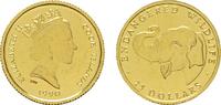 COOK ISLANDS 25 Dollars (1/25 Unze) Elizabeth II. seit 1952.