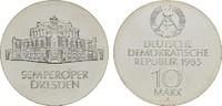 10 Mark 1985, A. DEUTSCHE DEMOKRATISCHE REPUBLIK, 1949-1990  Stempelgla... 58,00 EUR